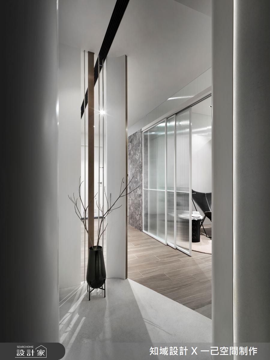 10坪新成屋(5年以下)_現代風玄關案例圖片_知域設計 X 一己空間制作_知域_曼哈頓之2