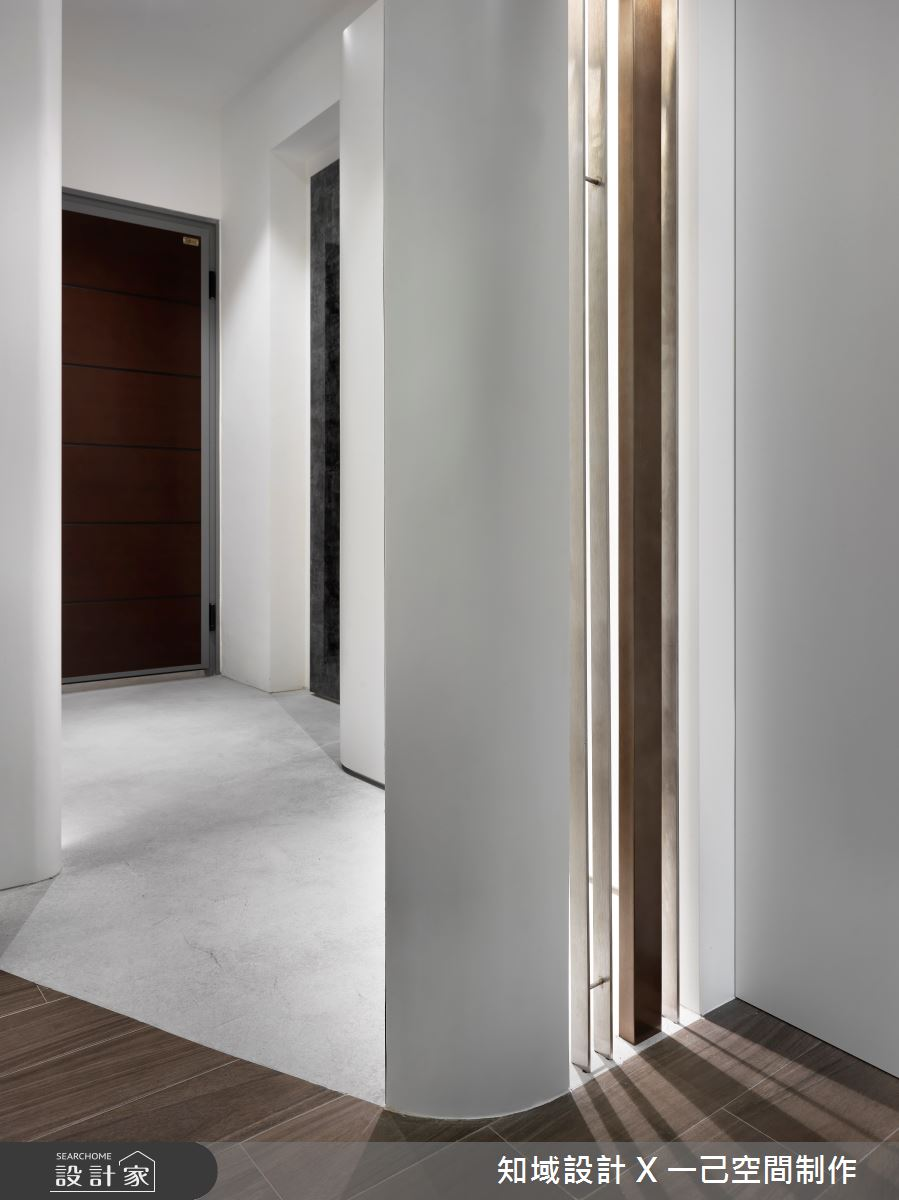10坪新成屋(5年以下)_現代風玄關案例圖片_知域設計 X 一己空間制作_知域_曼哈頓之4
