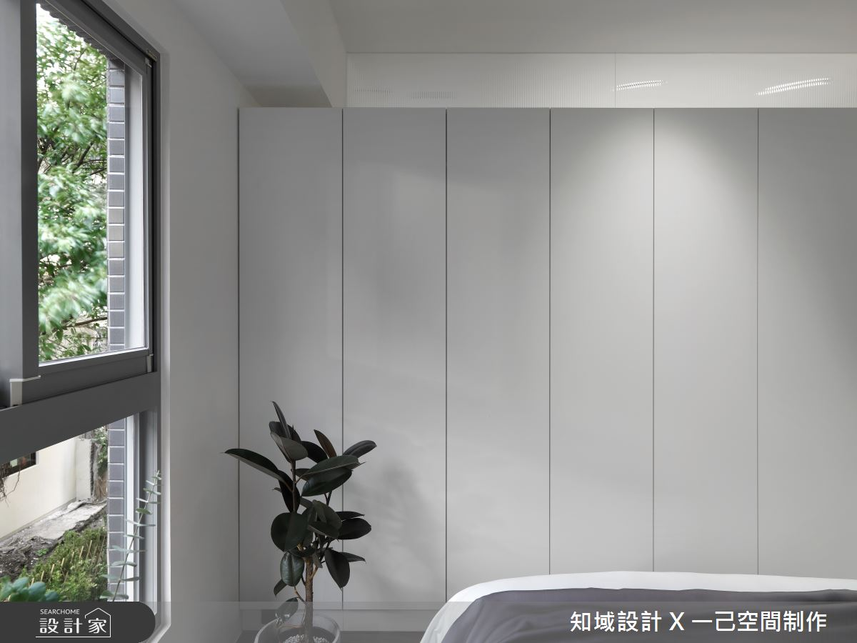 10坪新成屋(5年以下)_現代風臥室案例圖片_知域設計 X 一己空間制作_知域_曼哈頓之18