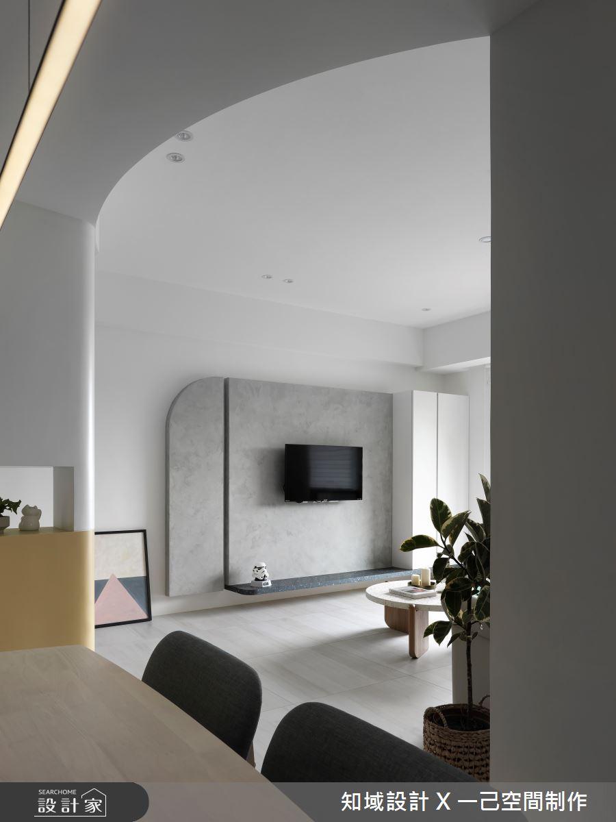 17坪新成屋(5年以下)_北歐風客廳案例圖片_知域設計 X 一己空間制作_知域_YOLO之5