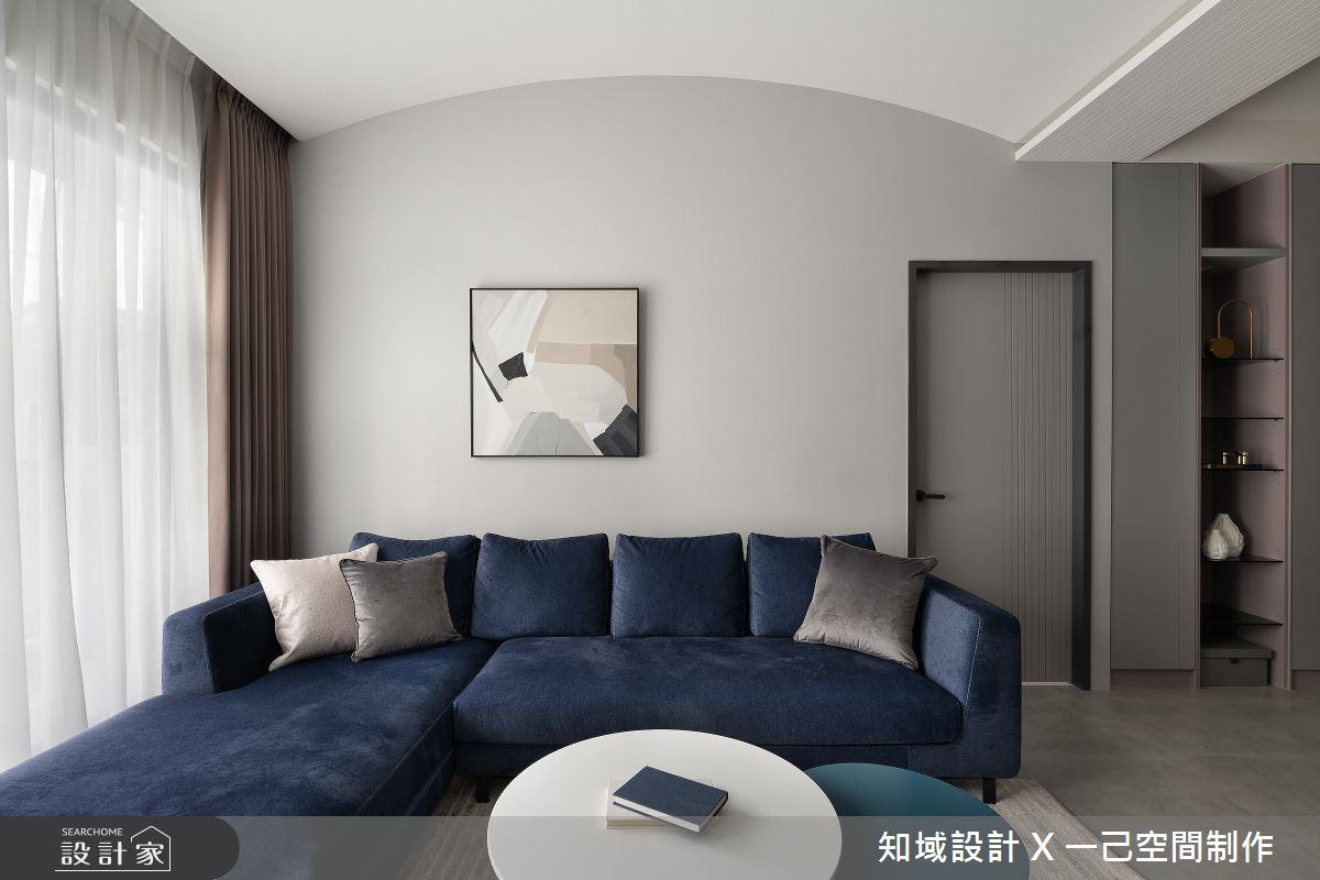 30坪新成屋(5年以下)_北歐風客廳案例圖片_知域設計 X 一己空間制作_知域_Lady Grey之4