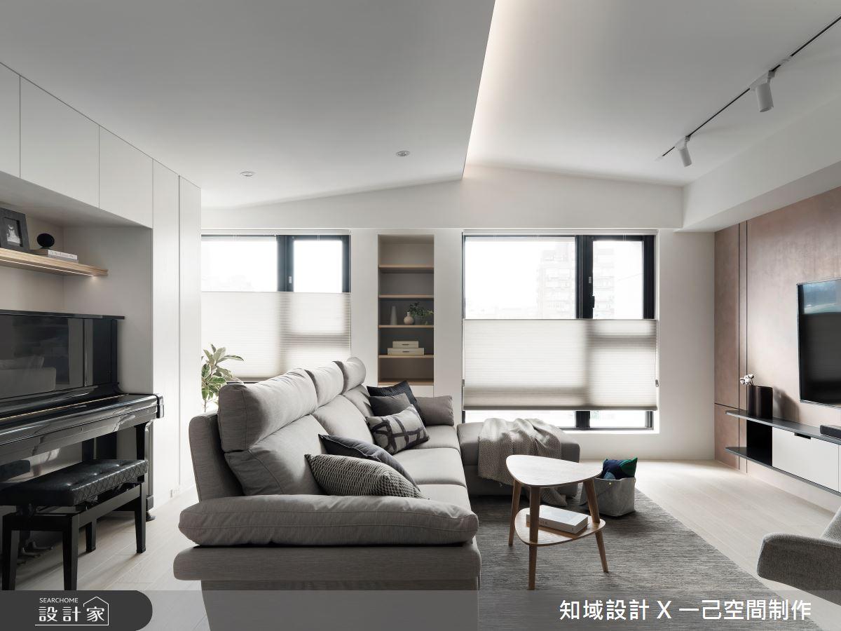 25坪新成屋(5年以下)_北歐風客廳案例圖片_知域設計 X 一己空間制作_知域_曦之3