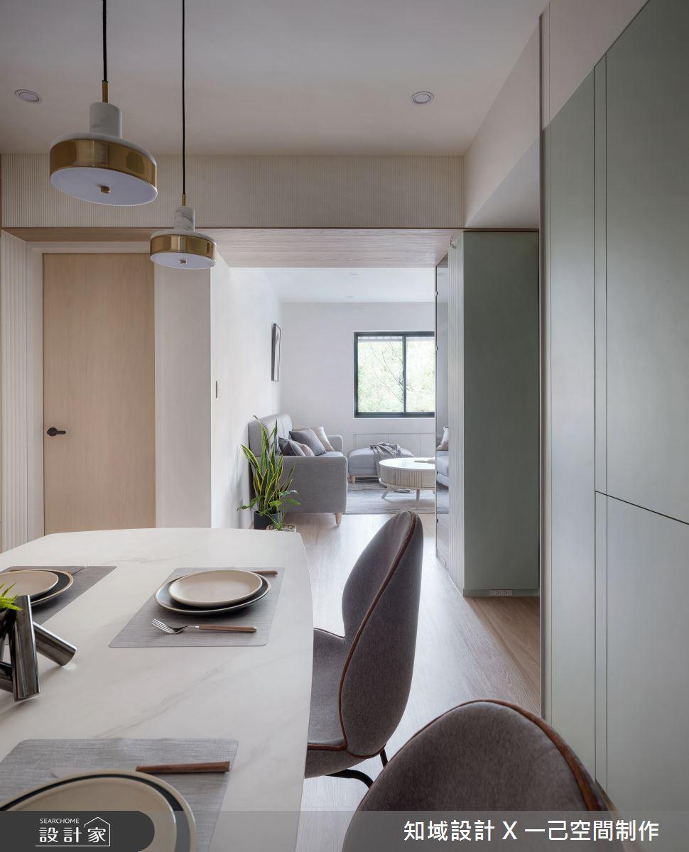 40坪中古屋(5~15年)_北歐風餐廳案例圖片_知域設計 X 一己空間制作_知域_合禾之5