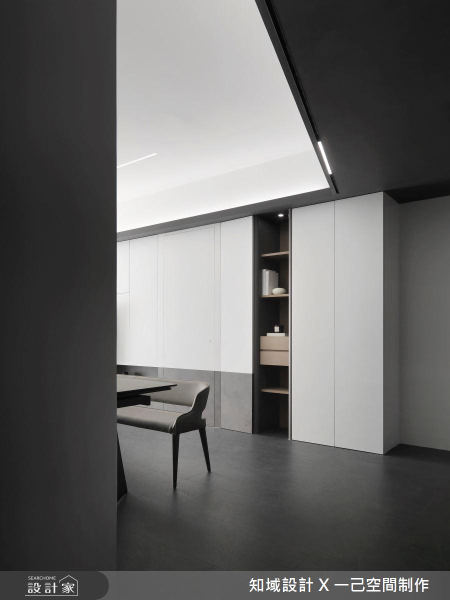 28坪新成屋(5年以下)_現代風案例圖片_知域設計 X 一己空間制作_知域_Black Mica之4
