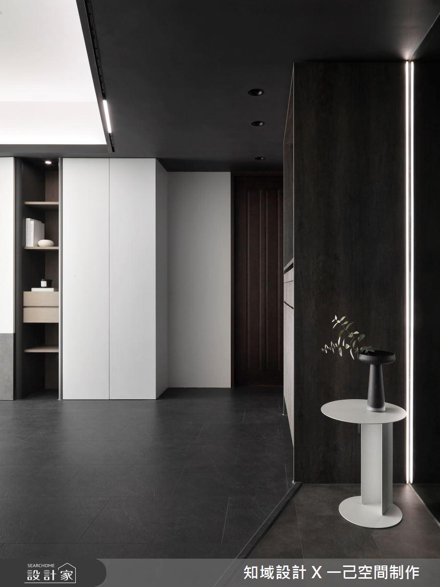 28坪新成屋(5年以下)_現代風案例圖片_知域設計 X 一己空間制作_知域_Black Mica之2