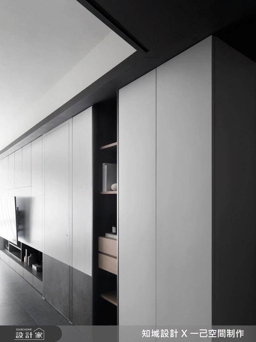 28坪新成屋(5年以下)_現代風案例圖片_知域設計 X 一己空間制作_知域_Black Mica之5