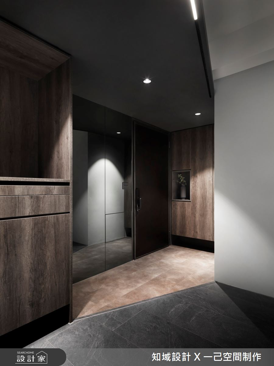 28坪新成屋(5年以下)_現代風案例圖片_知域設計 X 一己空間制作_知域_Black Mica之1