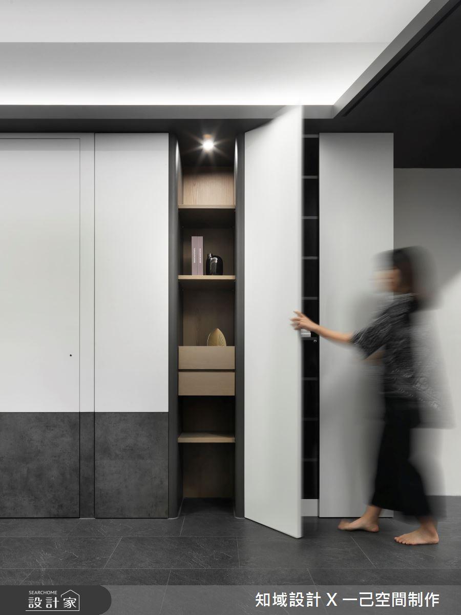 28坪新成屋(5年以下)_現代風案例圖片_知域設計 X 一己空間制作_知域_Black Mica之3