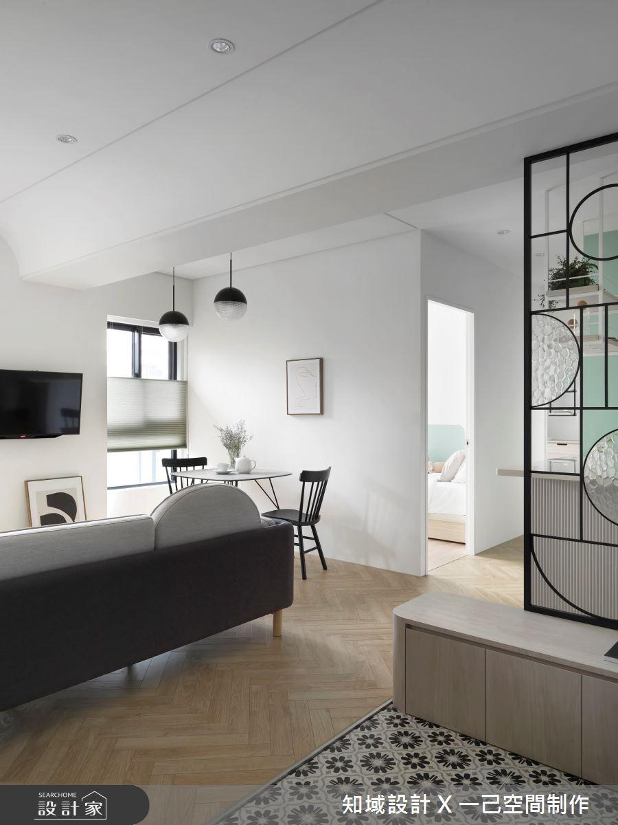 16坪新成屋(5年以下)_北歐風案例圖片_知域設計 X 一己空間制作_知域_Wonderland之3