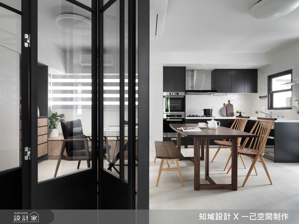 30坪中古屋(5~15年)_混搭風餐廳案例圖片_知域設計 X 一己空間制作_知域_Homeward之8