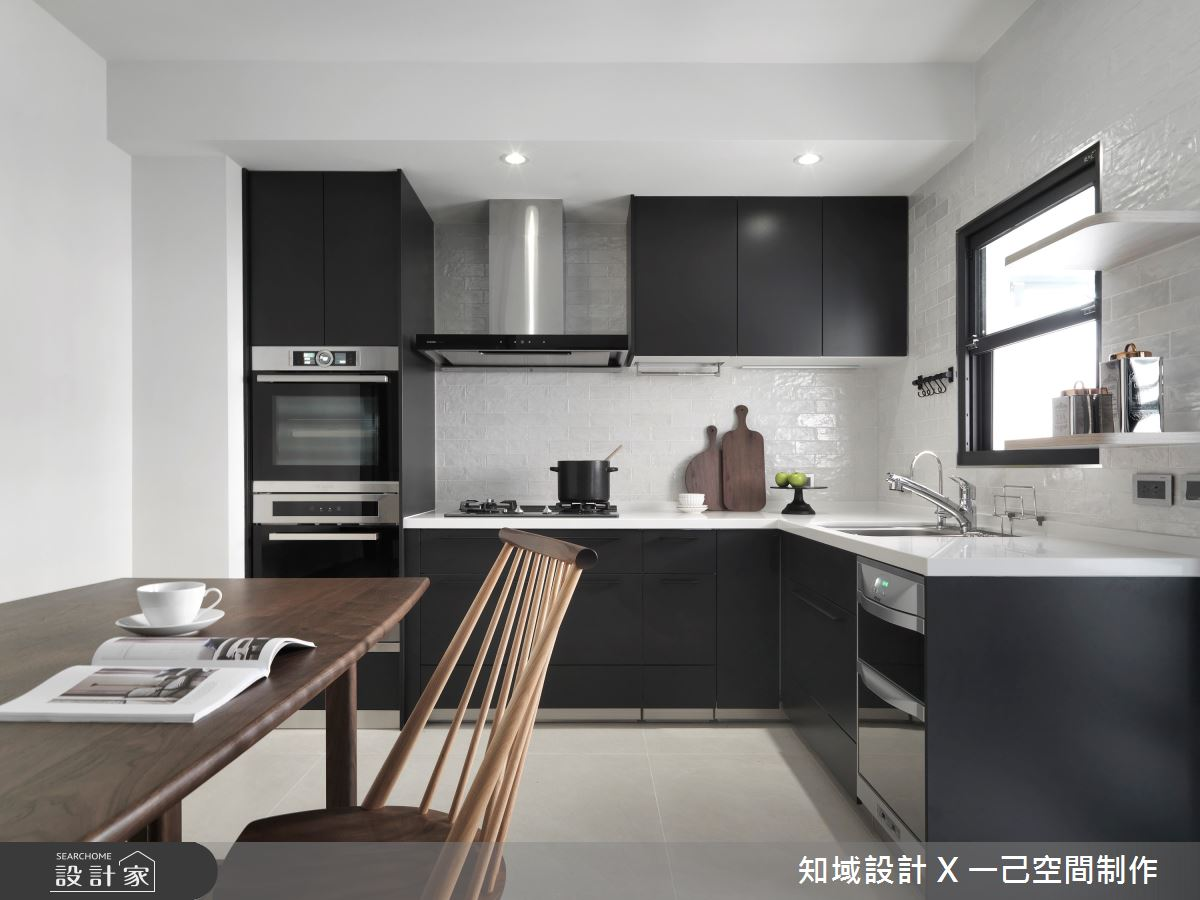 30坪中古屋(5~15年)_混搭風廚房案例圖片_知域設計 X 一己空間制作_知域_Homeward之9