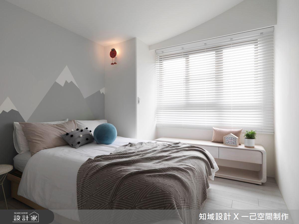 30坪新成屋(5年以下)_北歐風臥榻臥室案例圖片_知域設計 X 一己空間制作_知域_Warm Story之14