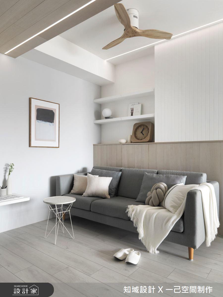 30坪新成屋(5年以下)_北歐風客廳案例圖片_知域設計 X 一己空間制作_知域_Warm Story之2