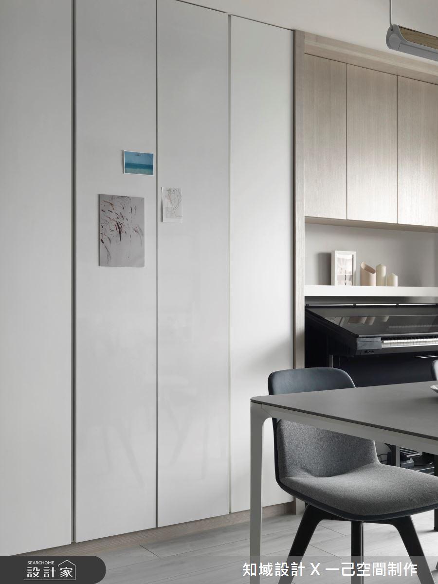 30坪新成屋(5年以下)_北歐風餐廳案例圖片_知域設計 X 一己空間制作_知域_Warm Story之8
