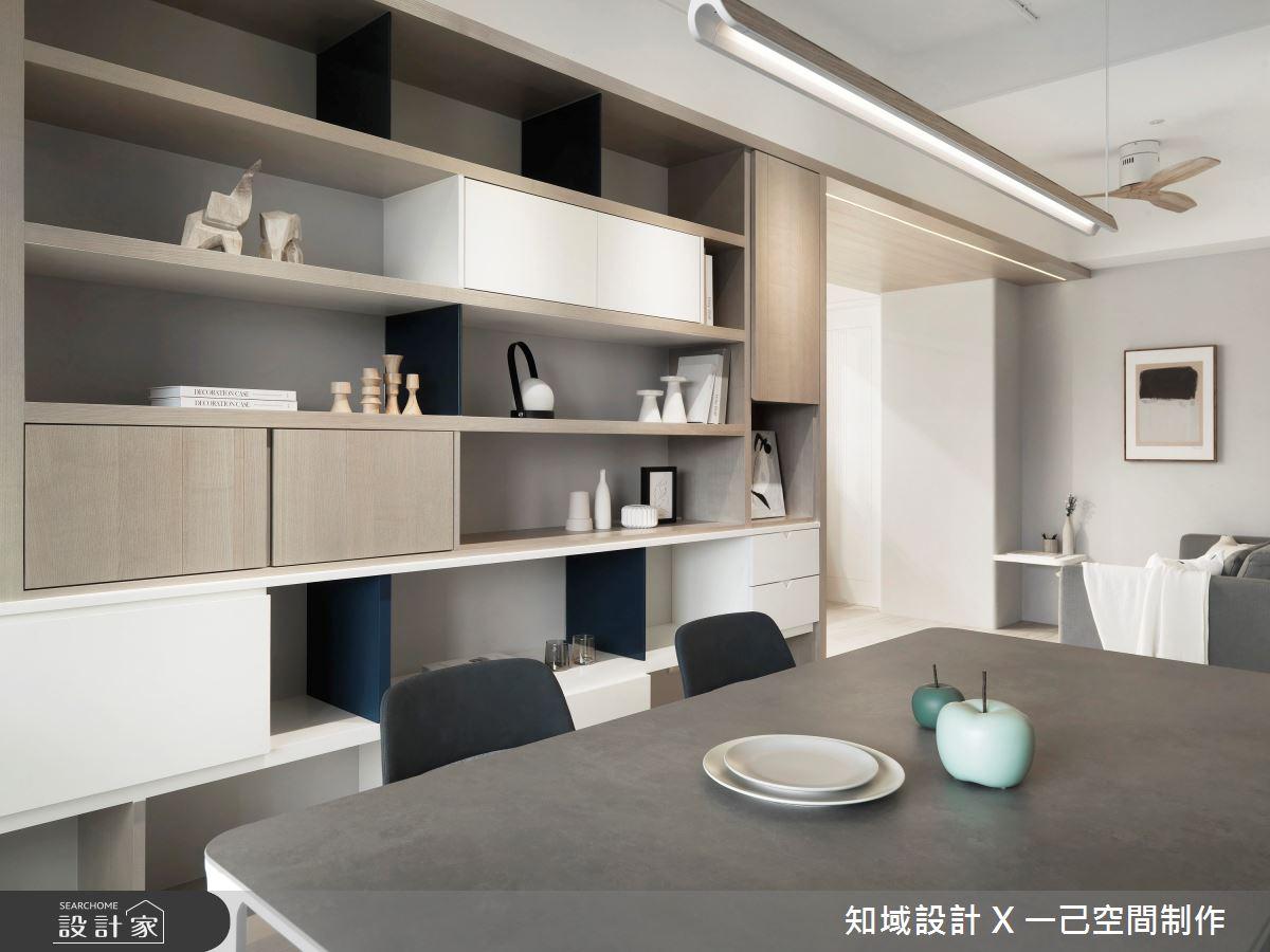 30坪新成屋(5年以下)_北歐風餐廳案例圖片_知域設計 X 一己空間制作_知域_Warm Story之7