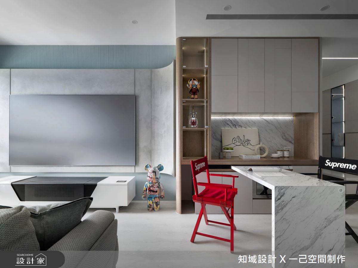 21坪新成屋(5年以下)_北歐風客廳餐廳案例圖片_知域設計 X 一己空間制作_知域_Puzzle之4
