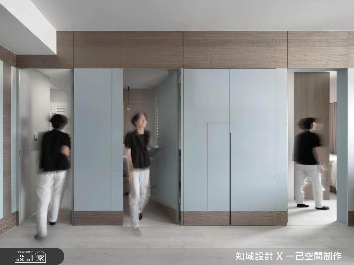 21坪新成屋(5年以下)_北歐風案例圖片_知域設計 X 一己空間制作_知域_Puzzle之2
