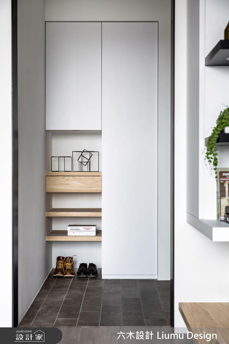 22坪新成屋(5年以下)_北歐風玄關案例圖片_六木設計 Liumu Design_六木_01之3