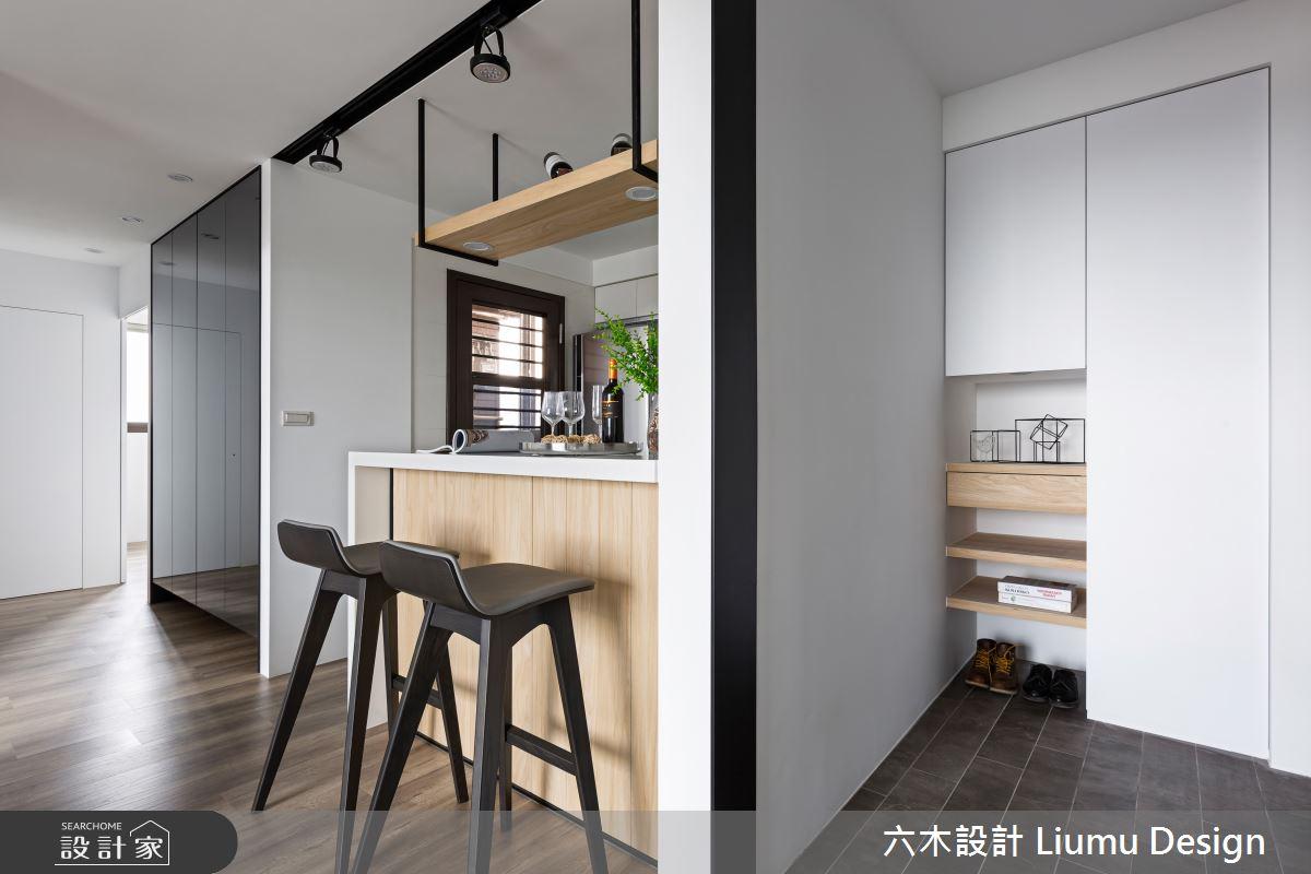 22坪新成屋(5年以下)_北歐風吧檯案例圖片_六木設計 Liumu Design_六木_01之4