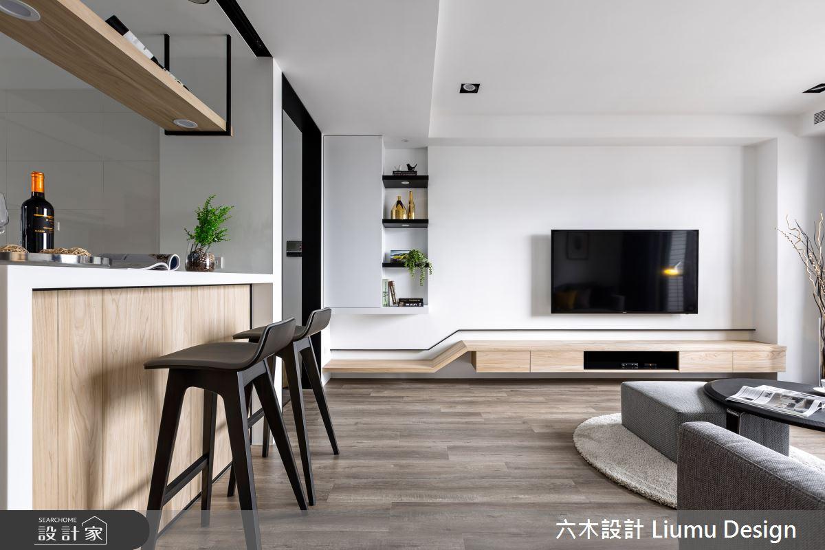 22坪新成屋(5年以下)_北歐風吧檯案例圖片_六木設計 Liumu Design_六木_01之6