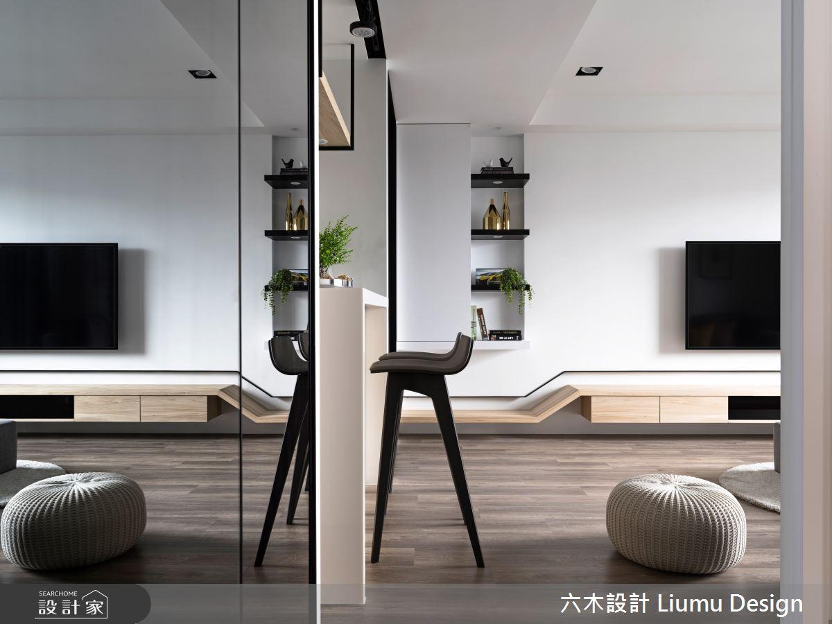 22坪新成屋(5年以下)_北歐風吧檯案例圖片_六木設計 Liumu Design_六木_01之7