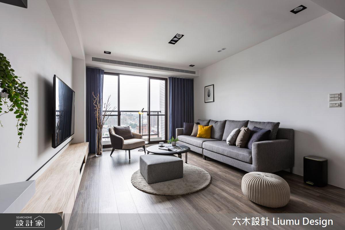 22坪新成屋(5年以下)_北歐風客廳案例圖片_六木設計 Liumu Design_六木_01之8