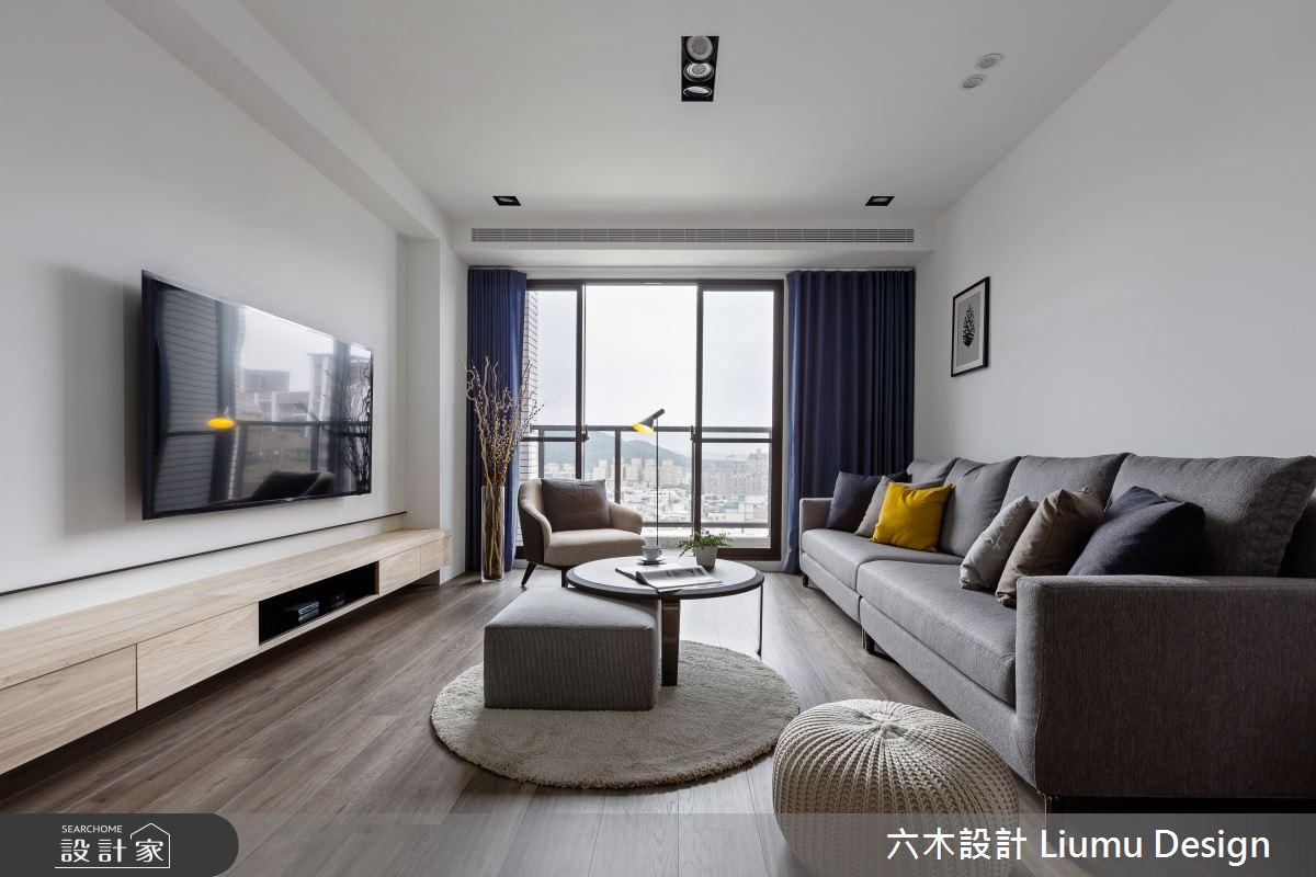 22坪新成屋(5年以下)_北歐風客廳案例圖片_六木設計 Liumu Design_六木_01之9