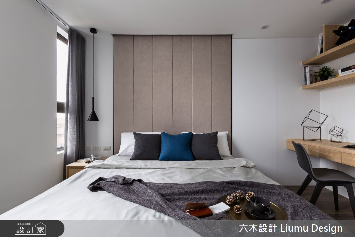 22坪新成屋(5年以下)_北歐風臥室案例圖片_六木設計 Liumu Design_六木_01之15