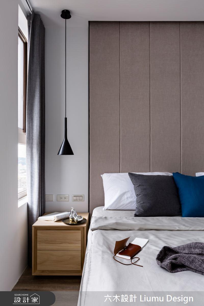 22坪新成屋(5年以下)_北歐風臥室案例圖片_六木設計 Liumu Design_六木_01之16