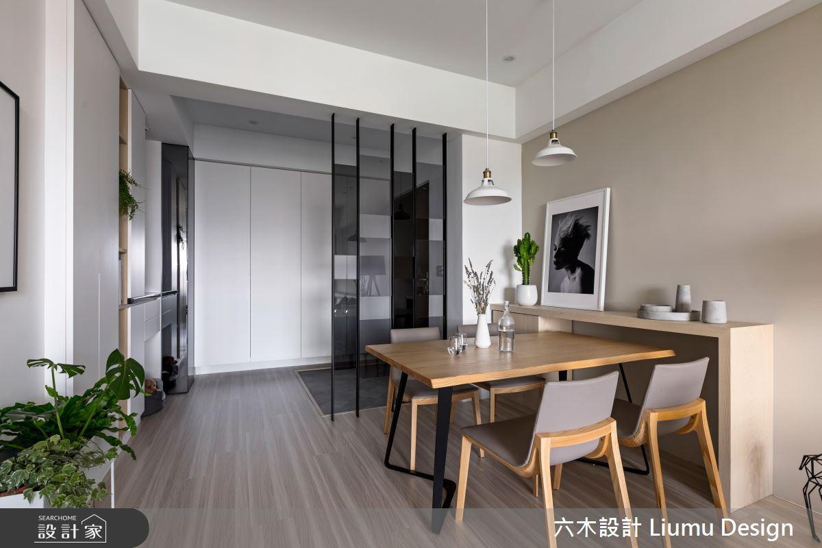 32坪新成屋(5年以下)_北歐風餐廳案例圖片_六木設計 Liumu Design_六木_02之5