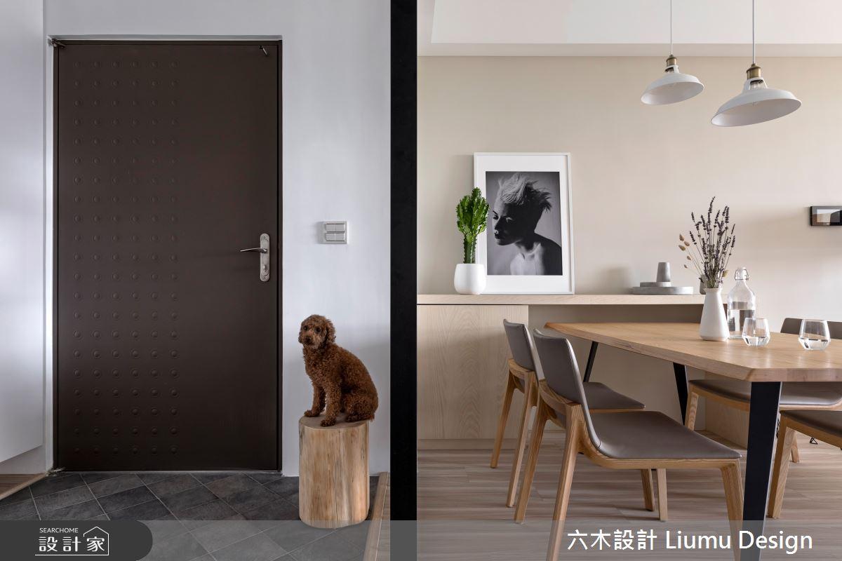 32坪新成屋(5年以下)_北歐風餐廳寵物案例圖片_六木設計 Liumu Design_六木_02之6