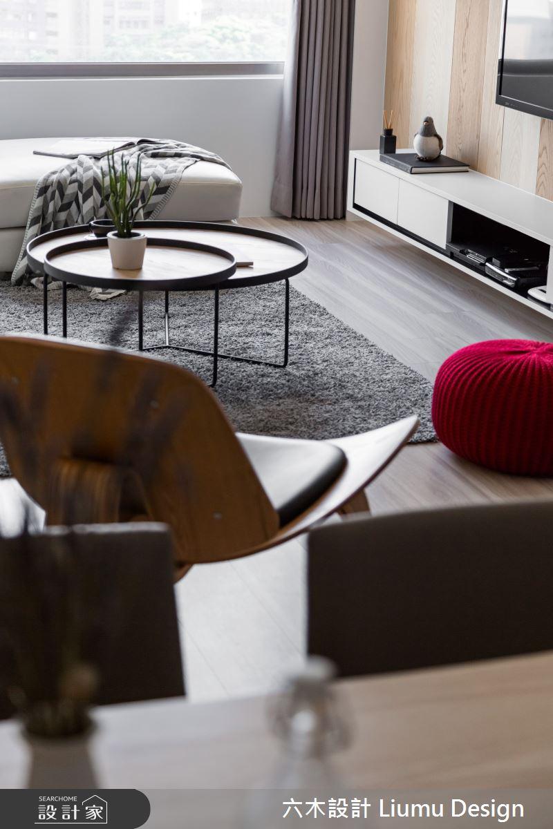 32坪新成屋(5年以下)_北歐風客廳案例圖片_六木設計 Liumu Design_六木_02之14