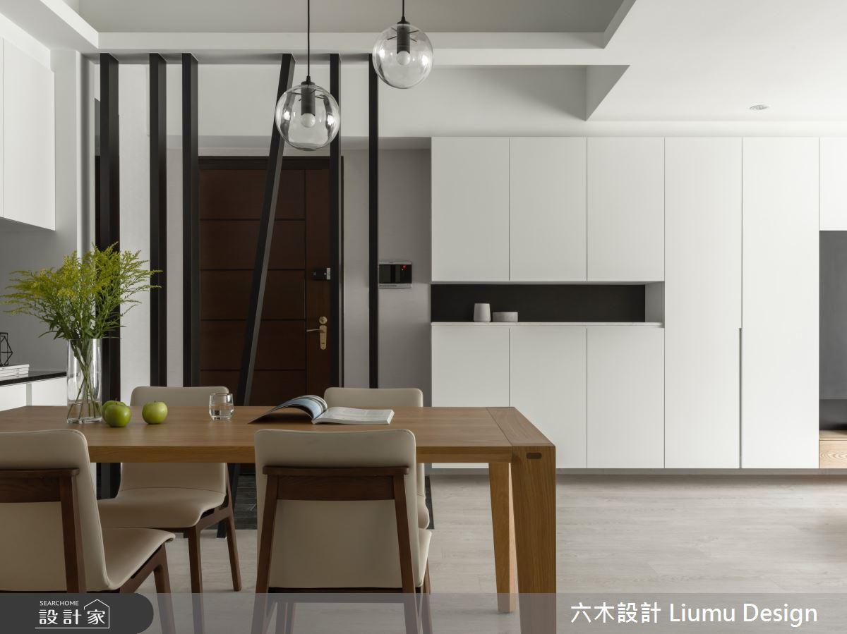 38坪中古屋(5~15年)_現代風餐廳案例圖片_六木設計 Liumu Design_六木_03之3