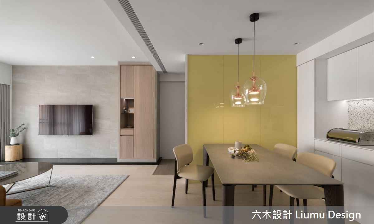 28坪中古屋(5~15年)_現代風餐廳案例圖片_六木設計 Liumu Design_六木_05之4