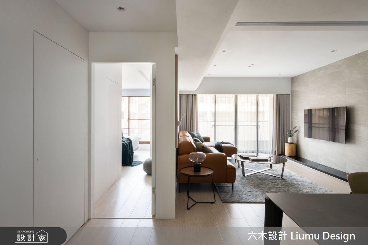 28坪中古屋(5~15年)_現代風客廳案例圖片_六木設計 Liumu Design_六木_05之9