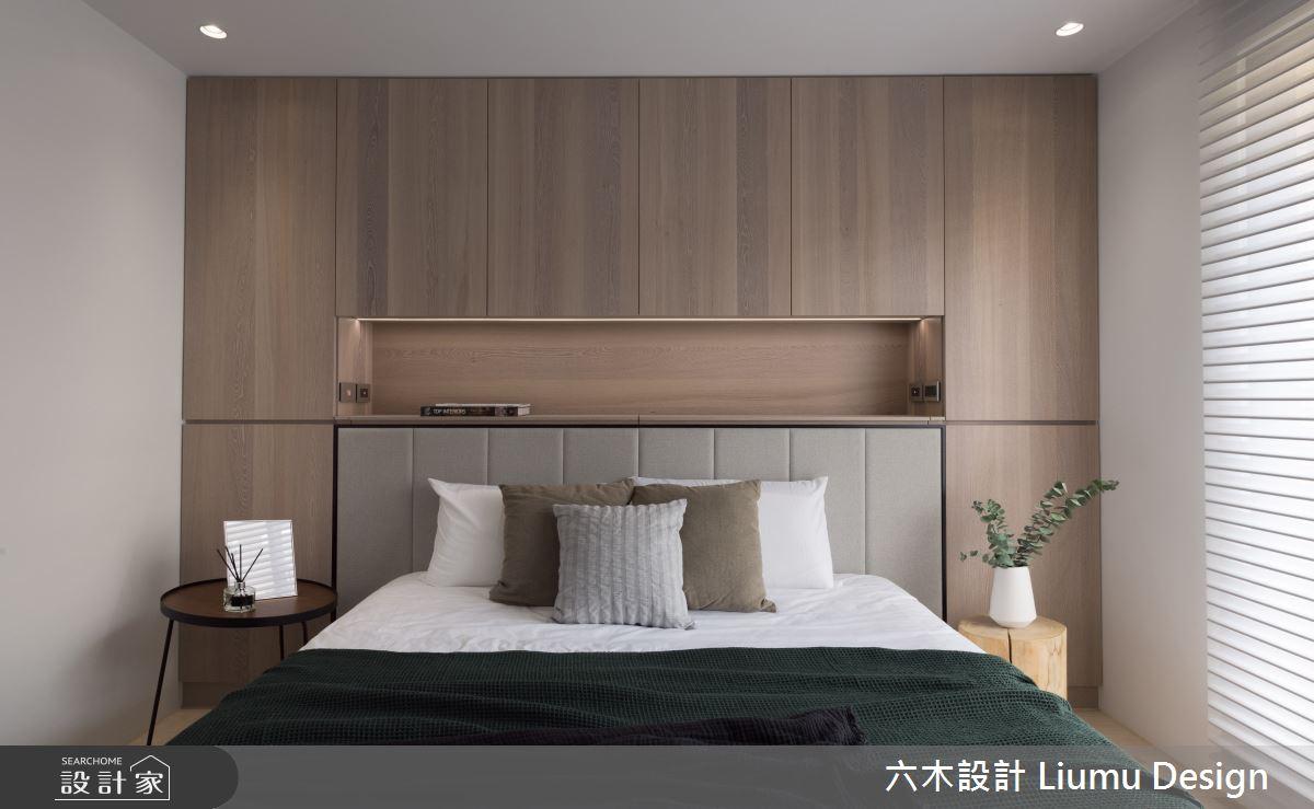 28坪中古屋(5~15年)_現代風臥室案例圖片_六木設計 Liumu Design_六木_05之12
