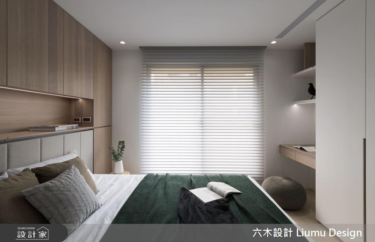 28坪中古屋(5~15年)_現代風臥室案例圖片_六木設計 Liumu Design_六木_05之11