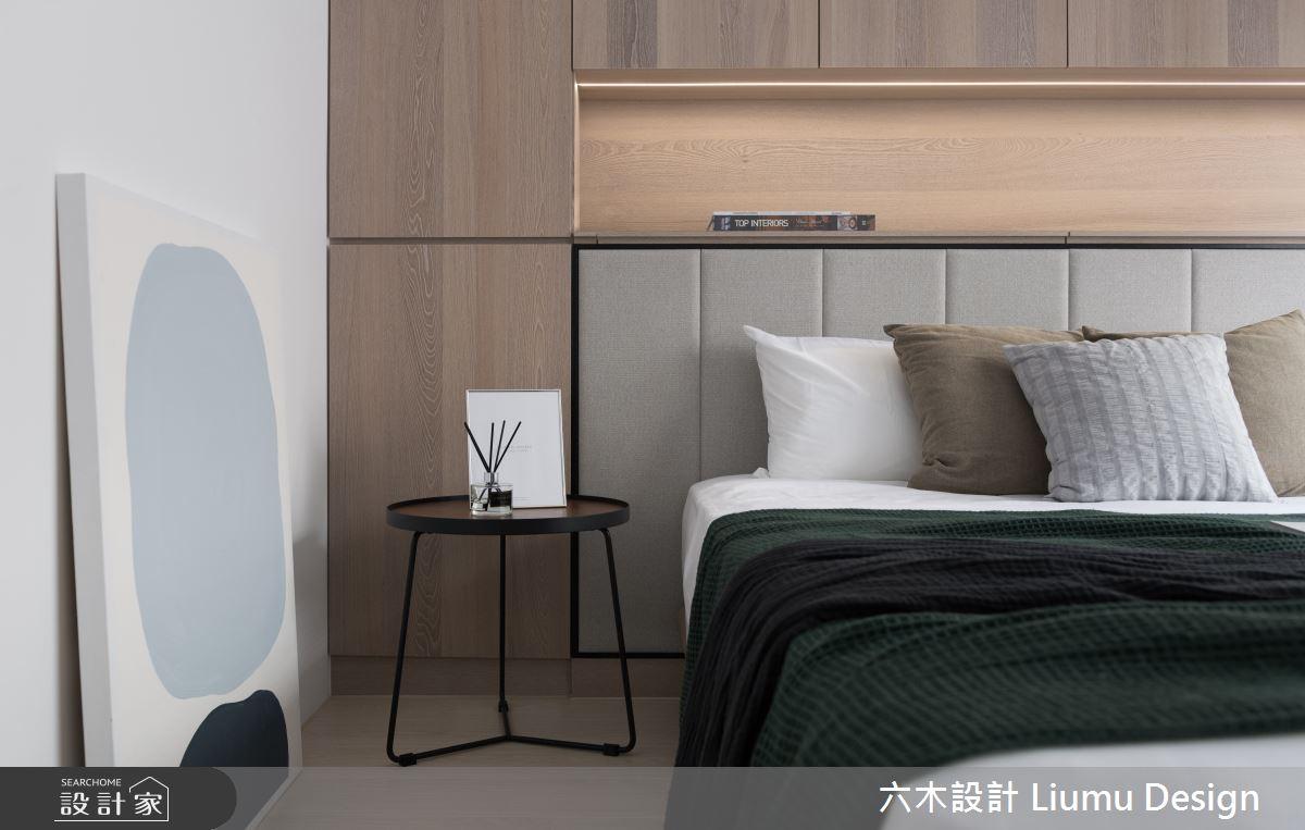 28坪中古屋(5~15年)_現代風臥室案例圖片_六木設計 Liumu Design_六木_05之13
