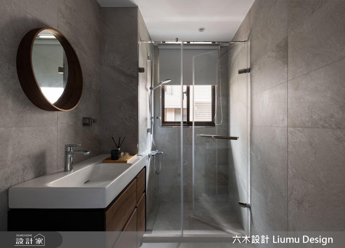 28坪中古屋(5~15年)_現代風浴室案例圖片_六木設計 Liumu Design_六木_05之15