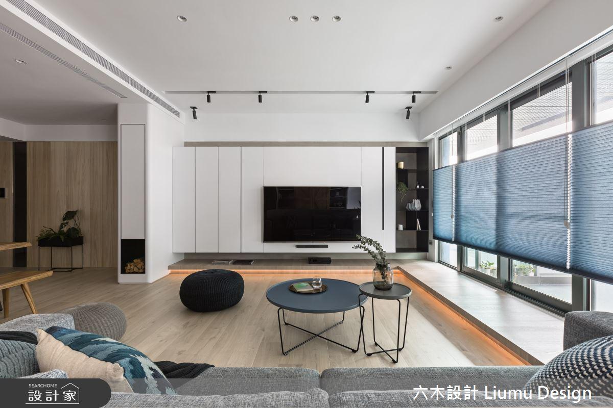 48坪新成屋(5年以下)_北歐風客廳案例圖片_六木設計 Liumu Design_六木_06之7