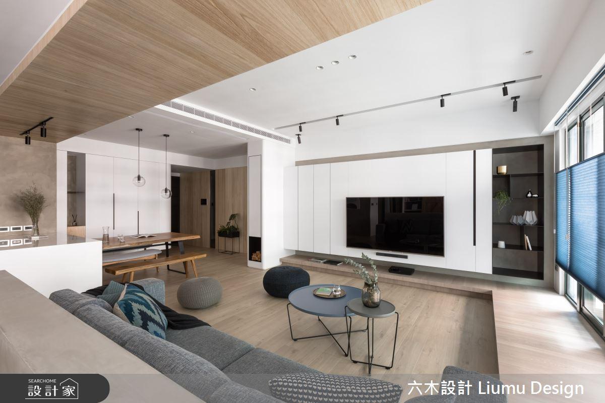 48坪新成屋(5年以下)_北歐風客廳案例圖片_六木設計 Liumu Design_六木_06之8