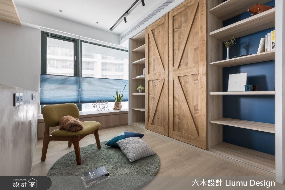 48坪新成屋(5年以下)_北歐風書房臥榻案例圖片_六木設計 Liumu Design_六木_06之12