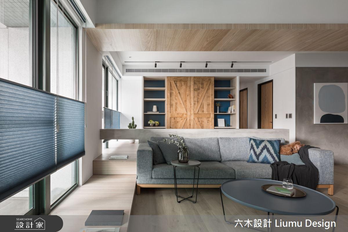 48坪新成屋(5年以下)_北歐風客廳案例圖片_六木設計 Liumu Design_六木_06之13