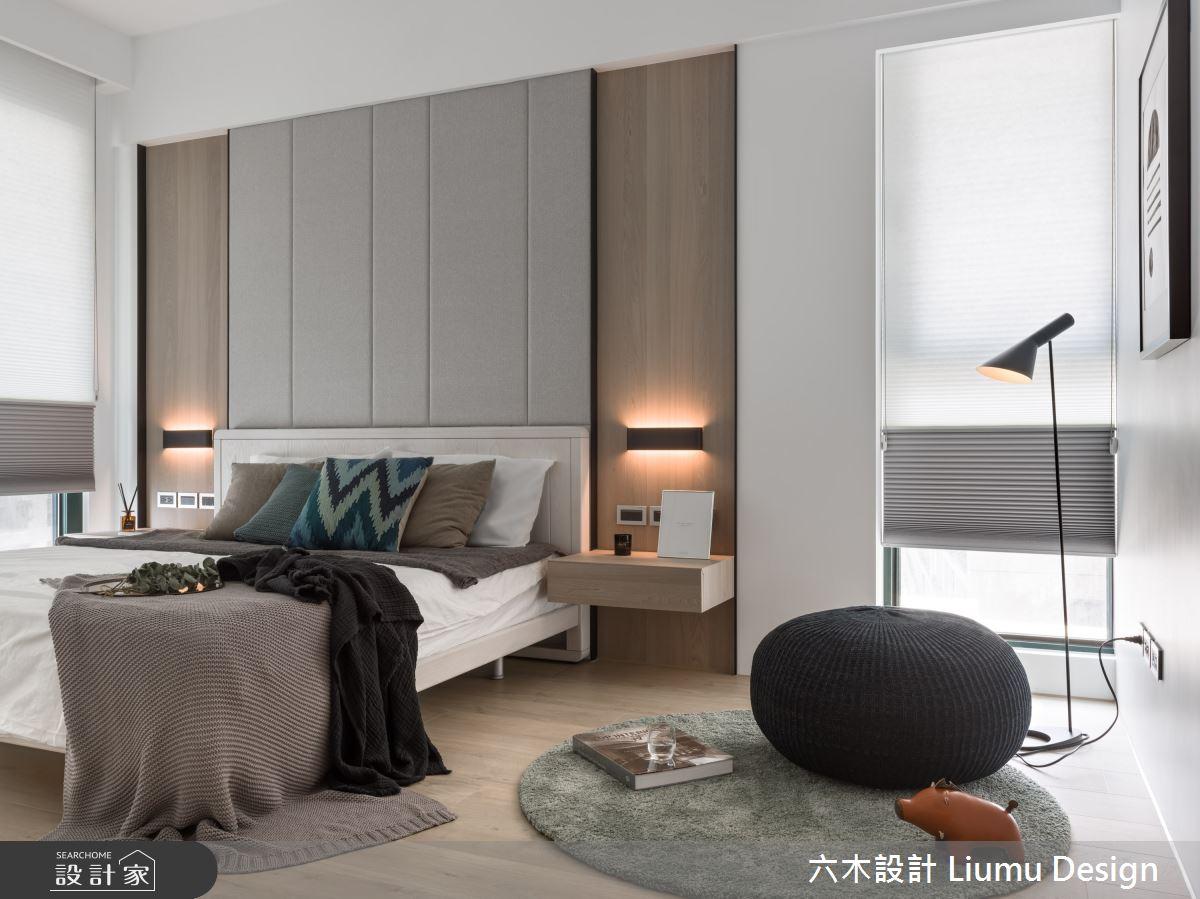 48坪新成屋(5年以下)_北歐風臥室案例圖片_六木設計 Liumu Design_六木_06之15