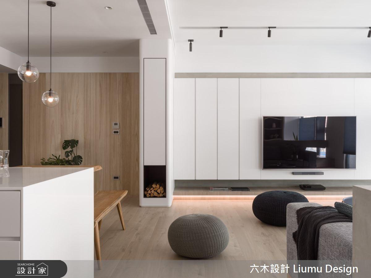 48坪新成屋(5年以下)_北歐風客廳案例圖片_六木設計 Liumu Design_六木_06之6