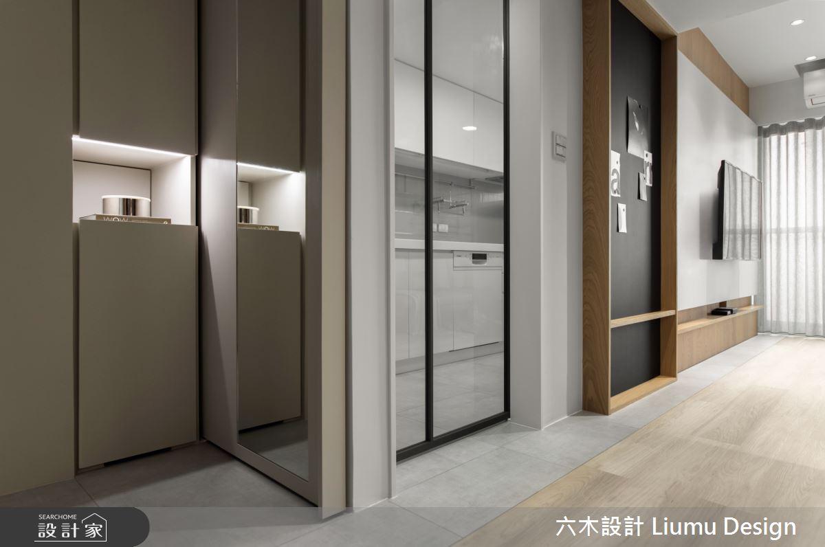 25坪老屋(31~40年)_現代風玄關案例圖片_六木設計 Liumu Design_六木_08之4