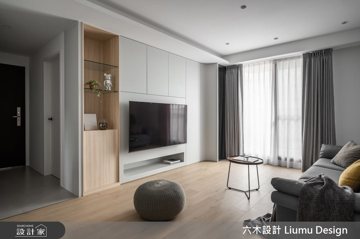 28坪新成屋(5年以下)_現代風案例圖片_六木設計 Liumu Design_六木_11之5