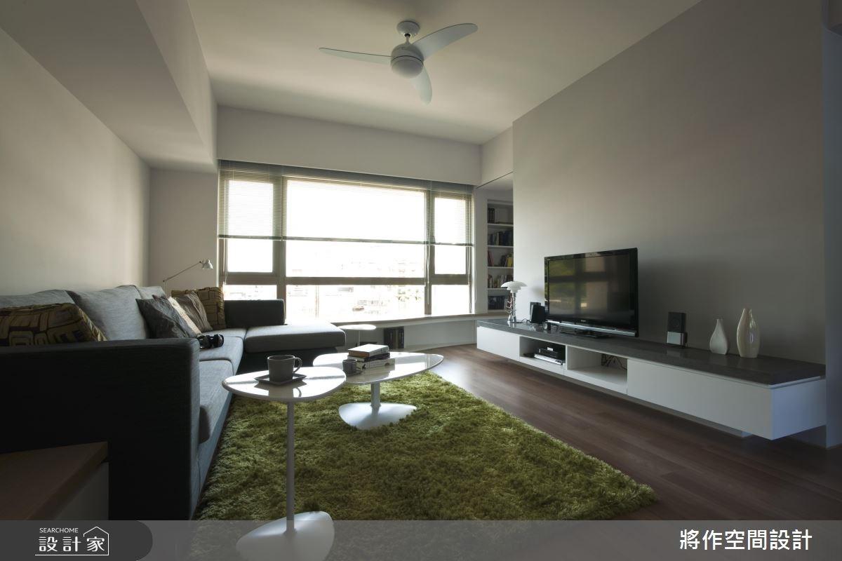 33坪中古屋(5~15年)_北歐風客廳案例圖片_將作空間設計工作室_將作_03之3