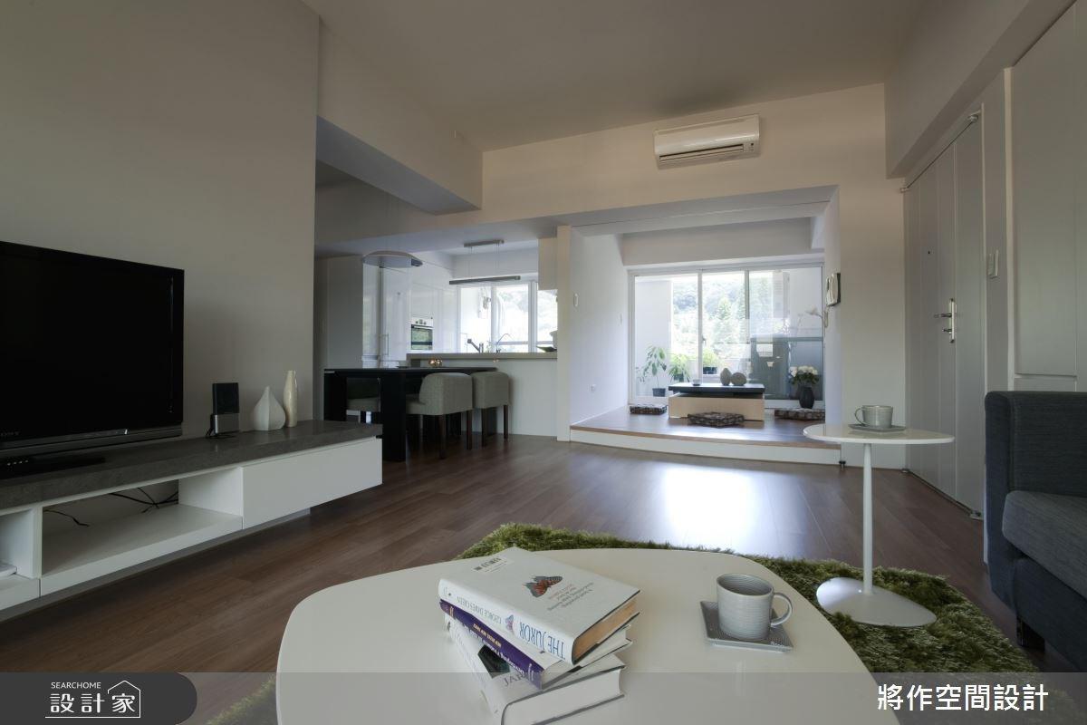 33坪中古屋(5~15年)_北歐風客廳案例圖片_將作空間設計工作室_將作_03之4