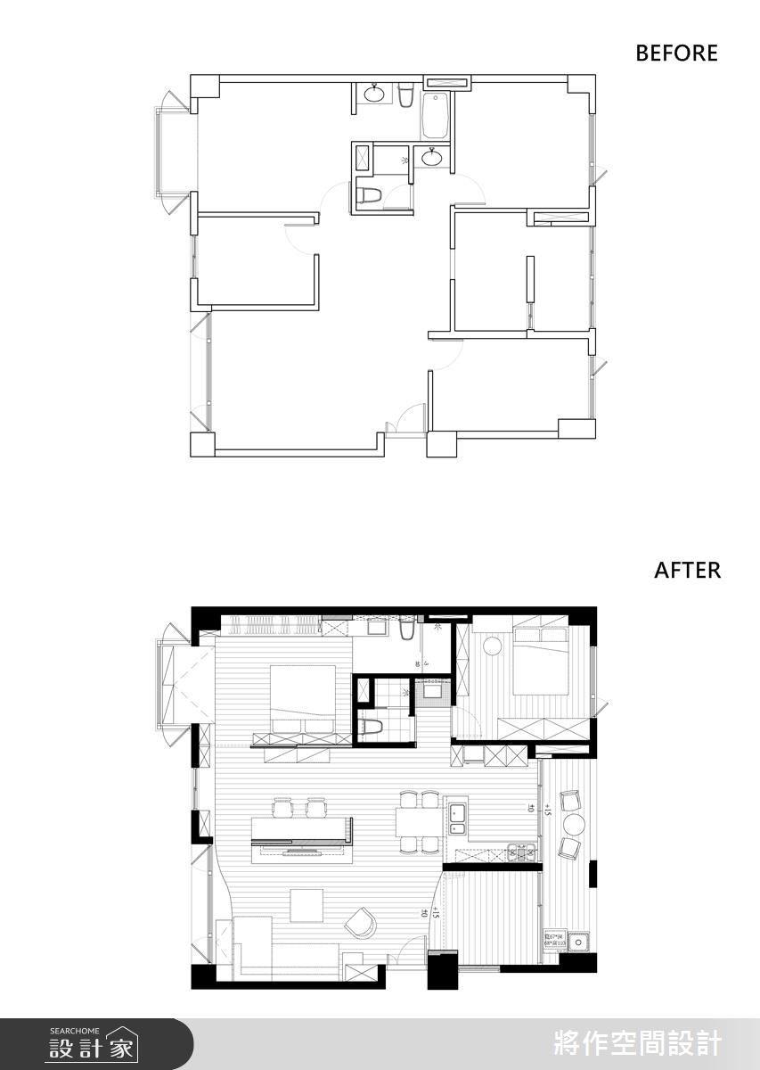 33坪中古屋(5~15年)_北歐風案例圖片_將作空間設計工作室_將作_03之17